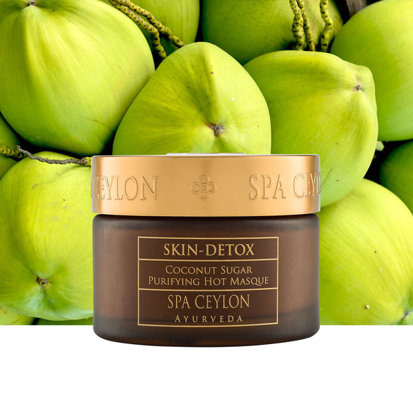 Skin Detox - Coconut Sugar Purifying Hot Masque, FACE CARE, SPA CEYLON AUSTRALIA
