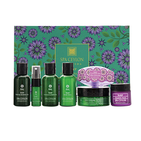 Sleep Therapy - Home Spa Set - SPA CEYLON Natural Luxury Ayurveda GIFT SETS