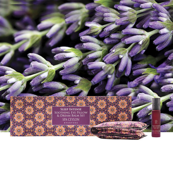 SLEEP INTENSE - Soothing Eye Pillow & Dream Balm Set, GIFT SETS, SPA CEYLON AUSTRALIA
