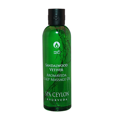 Sandalwood Vetiver - Scalp Massage Oil, Scalp Massage Oil, SPA CEYLON AUSTRALIA