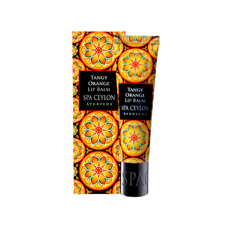 Tangy Orange - Lip Balm - SPA CEYLON Natural Luxury Ayurveda Lip Balm