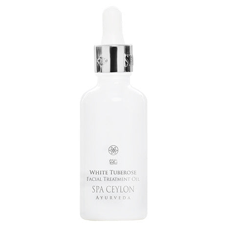 White Tuberose Night Repair Face Treatment Oil, FACE CARE, SPA CEYLON AUSTRALIA