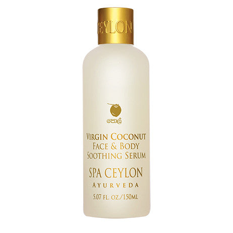 VIRGIN COCONUT - Face & Body Soothing Serum SPA CEYLON Natural Luxury Ayurveda