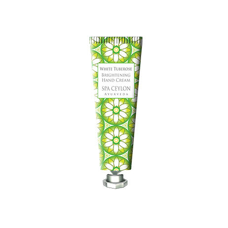White Tuberose - Brightening Hand Cream, HAND THERAPY, SPA CEYLON AUSTRALIA