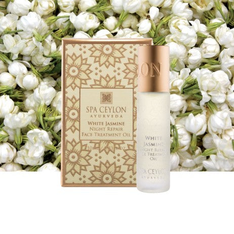White Jasmine Night Repair Face Treatment Oil