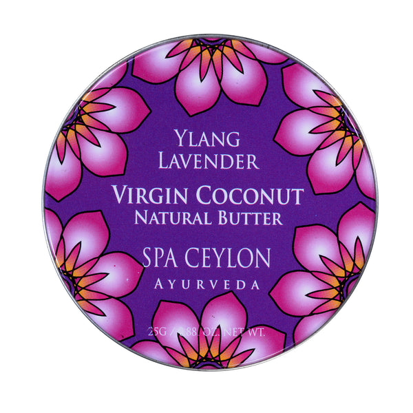 Ylang Lavender Virgin Coconut Natural Butter SPA CEYLON Natural Luxury Ayurveda