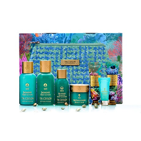 Festive Home Spa Set - SPA CEYLON Natural Luxury Ayurveda GIFT SETS