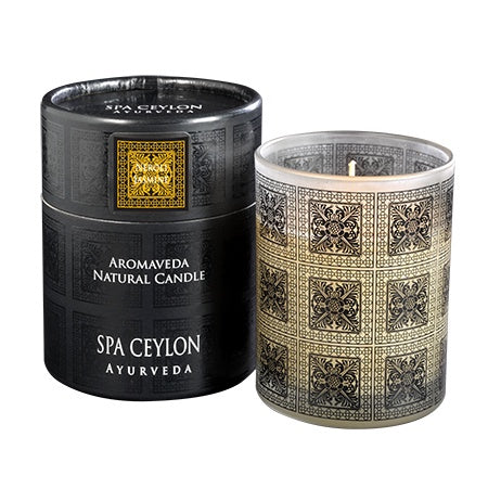 Neroli Jasmine - Aromaveda Natural Candle - SPA CEYLON Natural Luxury Ayurveda General