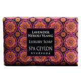 Lavender Neroli Ylang Luxury Soap SPA CEYLON Natural Luxury Ayurveda
