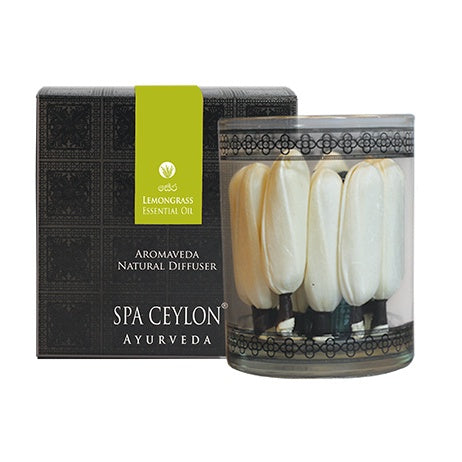 LEMONGRASS - Aromaveda Natural Diffuser SPA CEYLON Australia Natural Luxury Ayurveda
