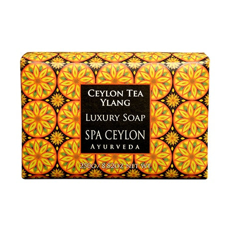 Ceylon Tea Ylang Luxury Soap - SPA CEYLON Natural Luxury Ayurveda BATH & BODY