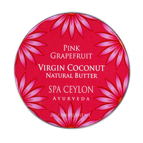 Pink Grapefruit - Virgin Coconut Natural Butter SPA CEYLON Natural Luxury Ayurveda