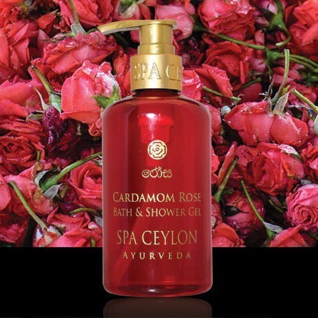 CARDAMOM ROSE - Bath & Shower Gel SPA CEYLON Natural Luxury Ayurveda