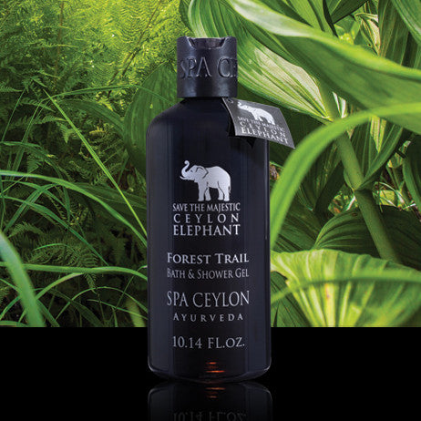 FOREST TRAIL - Bath & Shower Gel SPA CEYLON Natural Luxury Ayurveda