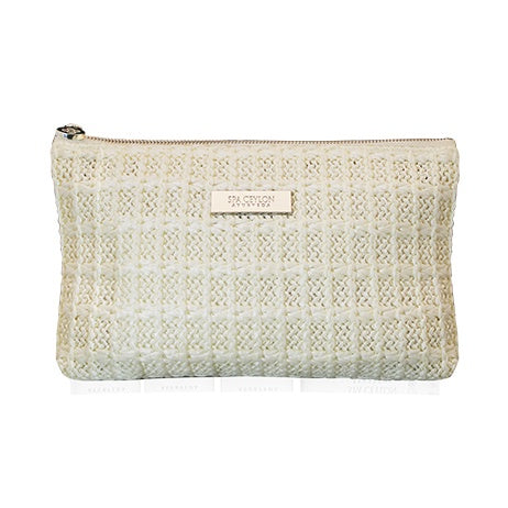 White Beauty - Raffia Spa Pouch, Accessories, SPA CEYLON AUSTRALIA