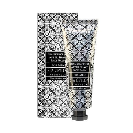 FRANKINCENSE After Shave Face Balm SPA CEYLON Natural Luxury Ayurveda