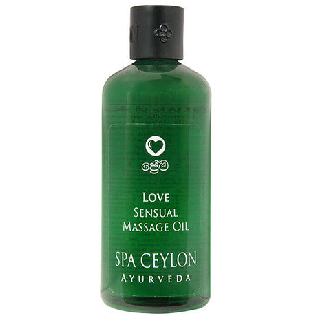 LOVE SENSUAL - Massage Oil SPA CEYLON Natural Luxury Ayurveda
