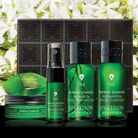 Neroli Jasmine Scalp & Hair Care Discovery Set, Hair Care, SPA CEYLON AUSTRALIA