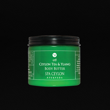 CEYLON TEA & YLANG - Body Butter SPA CEYLON Natural Luxury Ayurveda