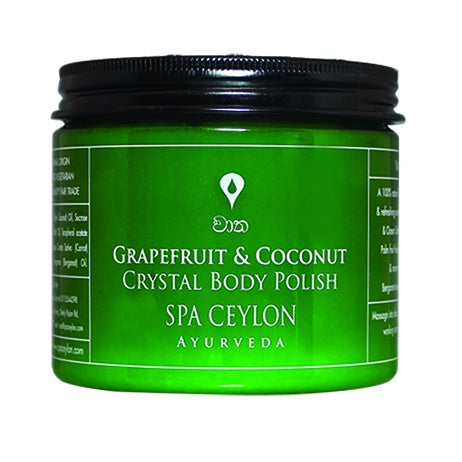 Grapefruit & Coconut - Crystal Body Polish - SPA CEYLON Natural Luxury Ayurveda BATH & BODY