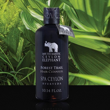 FOREST TRAIL Hair Cleanser SPA CEYLON Natural Luxury Ayurveda