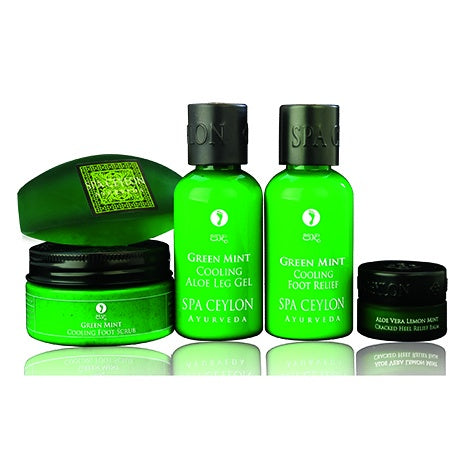 Green Mint Foot Care Essential Set, GIFT SETS, SPA CEYLON AUSTRALIA