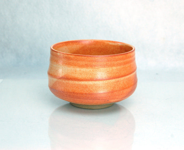 Beni Orange Shino Chawan