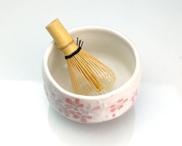 Matcha Ceremony Tea Set (Pink Sakura)