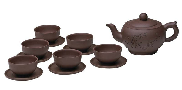 Yixing Tea Set (Chinese Calligraphy)