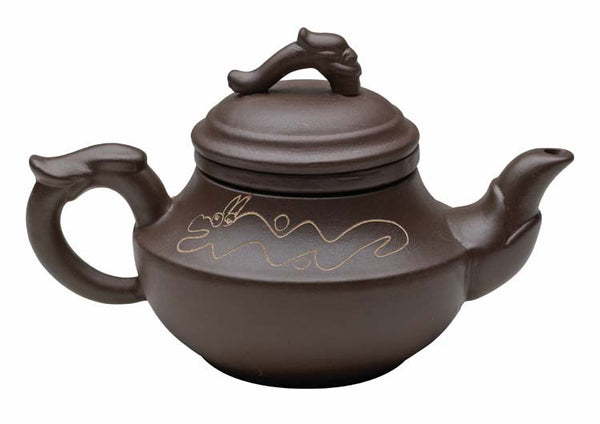 Chinese Teapot (Classical Dragon Yixing Clay)