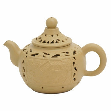 Chinese Teapot (Traditional Double Wall Yixing Clay)