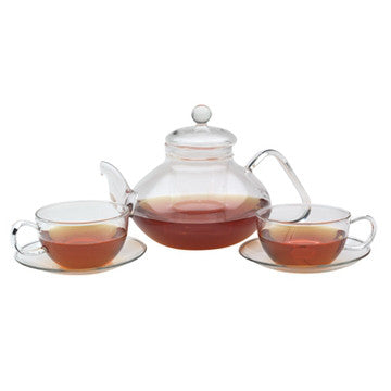 Glass Tea Set (Classical Filtering Tea Set)
