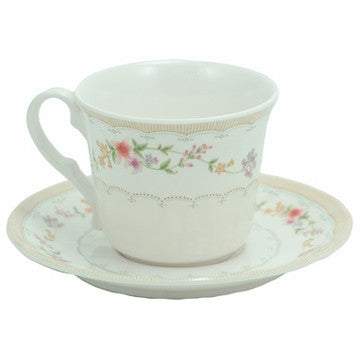Plastic Teacup & Saucer (Royal Opera)