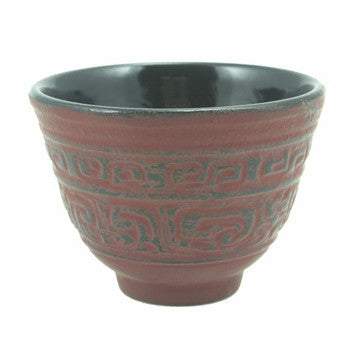 Cast Iron Teacup (Red Shogun)