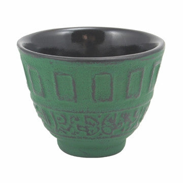 Cast Iron Teacup (Green Classical)