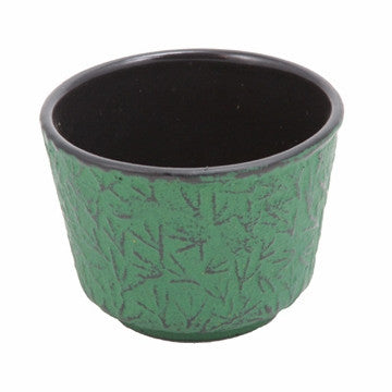 Cast Iron Teacup (Green Pine Needle)