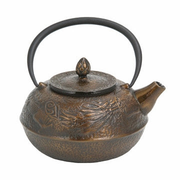Cast Iron Teapot (Large Bronze Dragon)
