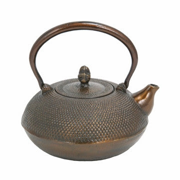 Cast Iron Teapot (Large Bronze Tetsubin)