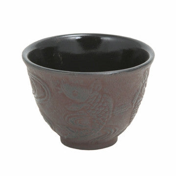 Cast Iron Teacup (Japanese Koi)