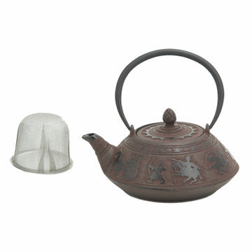 Cast Iron Teapot (Large Warriors)