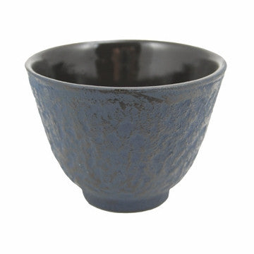 Cast Iron Teacup (Blue)