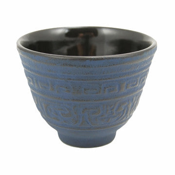 Cast Iron Teacup (Blue Shogun)