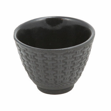 Cast Iron Teacup (Black Traditional)