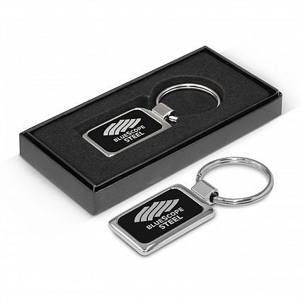 Laser Etched Metal Key Ring