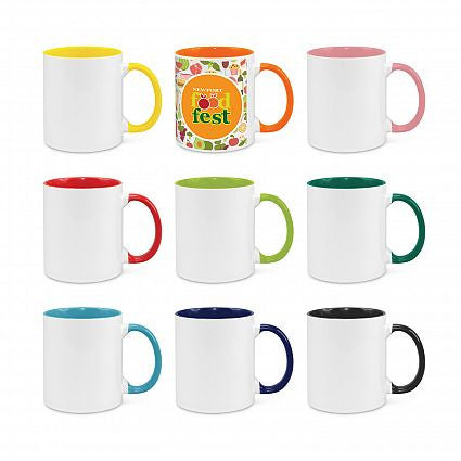 Madrid Coffee Mugs - Two Tone