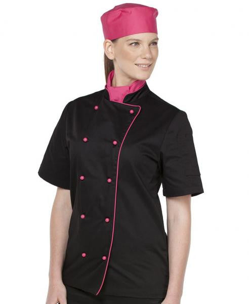 Unisex Short Sleeve Chefs Jacket
