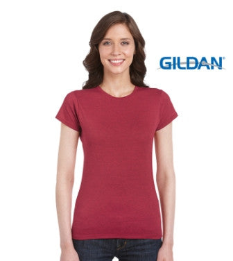 Gildan Ladies Ring Spun T Shirt