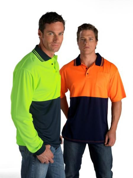 Fluro Biz Cool Polo