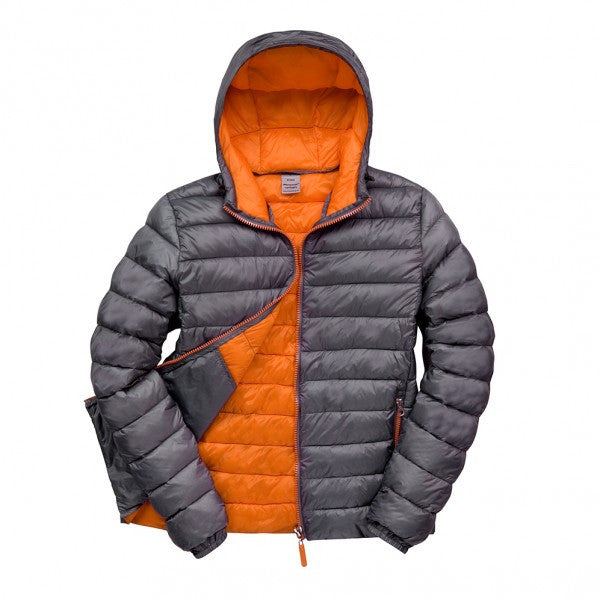 Snow Bird Hooded Puffer Jacket