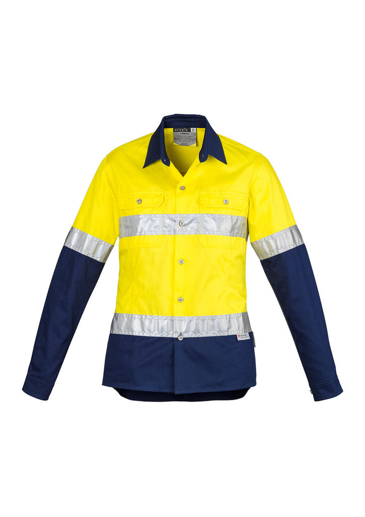 Ladies Hi Vis Industrial Shirt